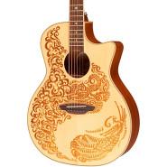 Luna guitars hen p2 spr 1