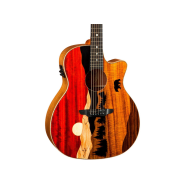 Luna guitars vista bear 1