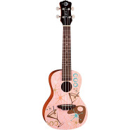 Luna guitars uke pink martini 1