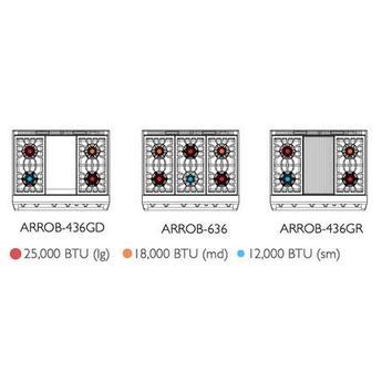American range arrob436gdl 6