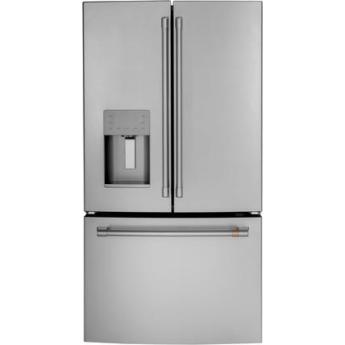 Cafe cfe26kp2ns1 matte collection series 36 inch french door refrigerator 1
