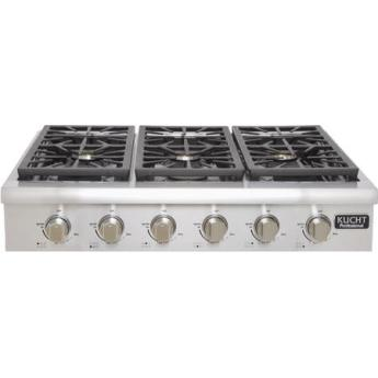 Kucht krt3618ulp professional series 36 inch gas sealed burner cooktop 1