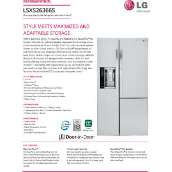 Lg lsxs26366s 2
