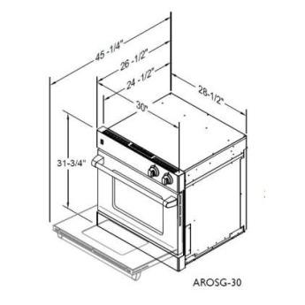 American range arosg30n 8
