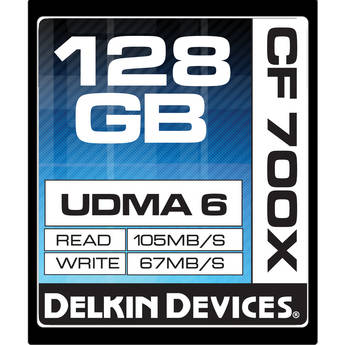 Delkin devices ddcf700 128gb 1