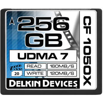 Delkin devices decf1050x256 1