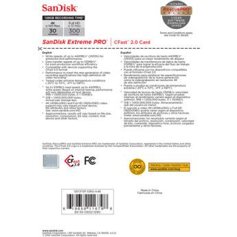Sandisk sdcfsp 128g a46d 5