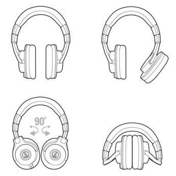 Audio technica ath m40x 2