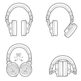 Audio technica ath m50xwh 2