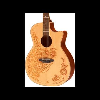 Luna guitars heno2spr 1