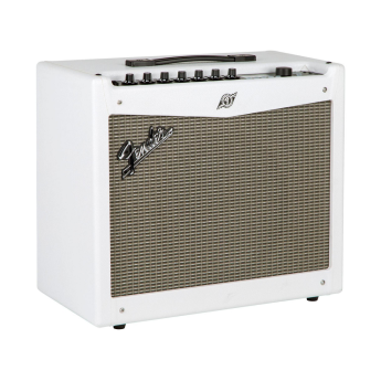 fender limited edition mustang iii v2 100w 1x12 guitar combo amp white greentoe. Black Bedroom Furniture Sets. Home Design Ideas
