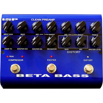 Isp technologies beta bass pedal 1