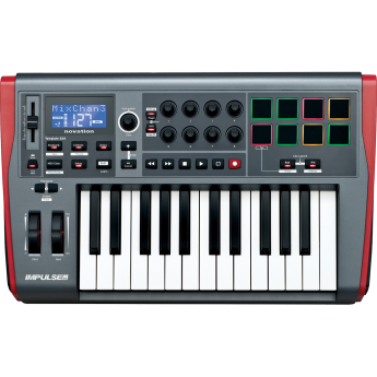 Novation ams novation impulse 25 1