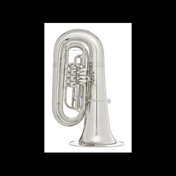 sale retailer 79e52 8af00 B&S GR55 Series 4-Valve 5/4 BBb Tuba GR55-S Silver | Greentoe