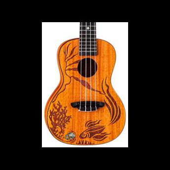 Luna guitars uke coral 1