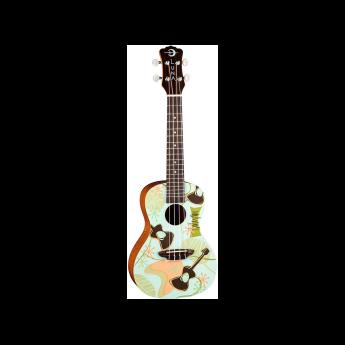 Luna guitars uke daddyo 1