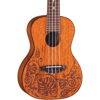 Luna guitars uke mo mah 1