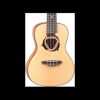 Luna guitars uke dpn spr 1