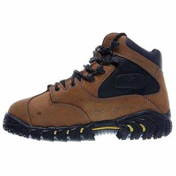 4148e878225 Michelin Work Boots Mens Steel Toe Internal Met Guard Brown XPX763 ...
