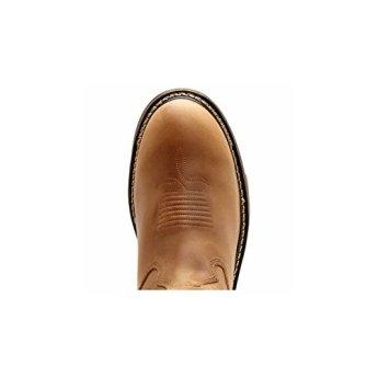 5e7689ea819 Rocky Mens Original Ride Branson Roper WP Tan Western Boots ...