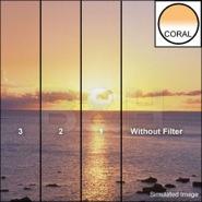 Lee filters set resin coral 1