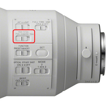 Sony sel600f40gm 15