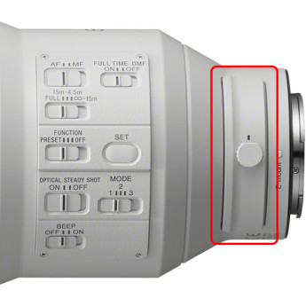 Sony sel600f40gm 16