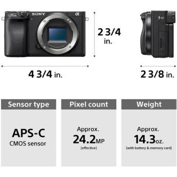 Sony ilce 6400m b 4