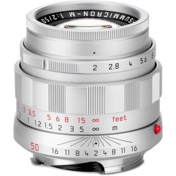 Leica APO-Summicron-M 50mm f/2 ASPH  Lens 11187 Greentoe