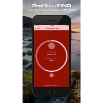 Lee Filters Seven5 ProGlass 75x90mm IRND 4 Stop 1 2 ND Glass Filter