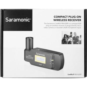 Saramonic uwmic9rx xlr9 12