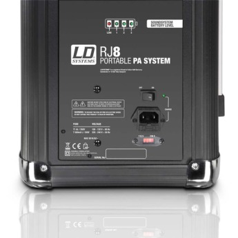 Ld systems lds rj8 4