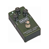 Delay reverb effects pedals