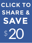 Share and Save $20